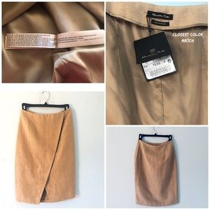 NWT Massimo Dutti  Fitted Skirt